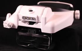 Foto 5 Freihand Helmlupe mit 3 LED nur 17,80 € auf www.wh13.de