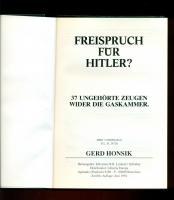 Foto 3 Freispruch für H.? /37 Ungehörte Zeugen von Honsik, Gerd
