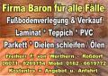 Fubodenverlegung u. Verkauf:  Laminat - Parkett - PVC - Teppich