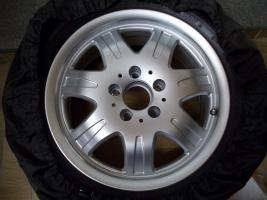 Für SLK R170/171 : 4 original 16 Zoll Mercedes Benz 7 Speichen - Leichtschmiedefelgen