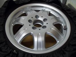 Foto 2 Für SLK R170/171 : 4 original 16 Zoll Mercedes Benz 7 Speichen - Leichtschmiedefelgen