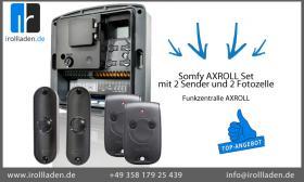 Funkzentralle AXROLL  » Somfy AXROLL Set mit 2 Sender und 2 Fotozelle