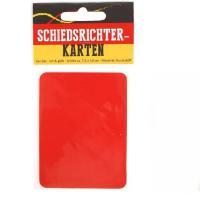 Plastik Schiedsrichterkarten