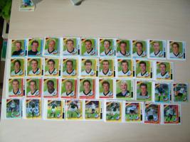 Fußball WM 02 Bilder Duplo Hanuta Sammelbilder von 2002