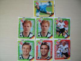 Fußball WM 98 Bilder Duplo Hanuta Sammelbilder von 1998