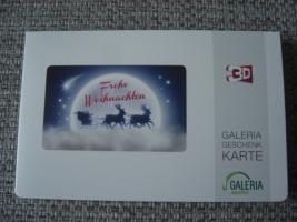 Galeria Kaufhof Geschenkkarte im Wert von 50€ zu verkaufen