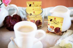 Ganoderma Kaffee