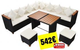 Garten Rattan Sofa Set 29-teilig 542€ versandkostenfrei