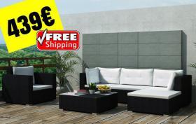 Garten Sofa Tisch Set Outdoor17-teilig 439€ frei Haus