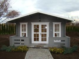 Foto 5 Gartenblockhäuser, Holzgaragen, Garagen, in vielen Grössen und Varianten, ..