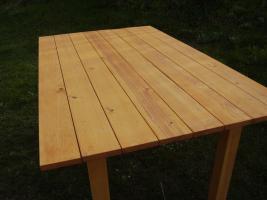 Foto 5 Gartengarnitur 4teilig aus Fichtenholz fertig lasiert