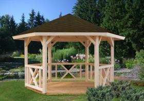 Foto 2 Gartenhäuser, Pavillon, Blockbohlengarage, Sauna und vieles mehr, ...