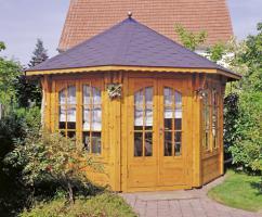 Foto 3 Gartenhäuser, Pavillon, Blockbohlengarage, Sauna und vieles mehr, ...