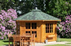 Foto 4 Gartenhäuser, Pavillon, Blockbohlengarage, Sauna und vieles mehr, ...
