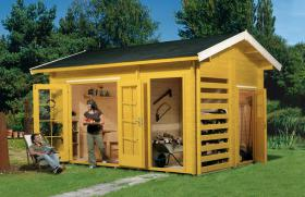 Gartenhäuser, Pavillons, Carport, Garage, Blockhäuser, Gartenblockhaus,