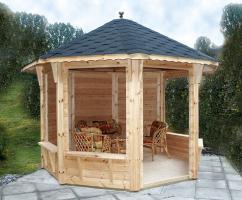 Foto 10 Gartenhäuser, Pavillons, Carport, Garage, Blockhäuser, Gartenblockhaus,