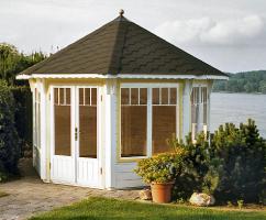 Foto 11 Gartenhäuser, Pavillons, Carport, Garage, Blockhäuser, Gartenblockhaus,