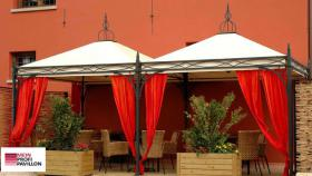 Gartenzelt Pavillon Laube Pvc Festzelt Sonnensegel 5x5