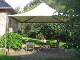 Foto 2 Gartenzelt Pavillon Pvc Festzelt Sonnensegel 5x5