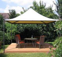 Foto 4 Gartenzelt Pavillon Pvc Festzelt Sonnensegel 5x5