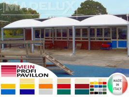 Foto 4 Gartenzelt Pavillon Pvc Festzelt Sonnensegel Laube 6x6