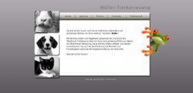 Gebe Tierbetreuung-Homepage ab