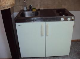 Miniküche Mit Kühlschrank Gebraucht : Miniküche mit glaskeramikkochfeld und kühlschrank breite cm