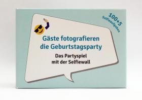 Geburtstagsgeschenk, 100 Karten mit Fotoaufgaben, Geburtstagsparty, Party, Spiel