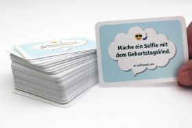 Foto 6 Geburtstagsgeschenk, 100 Karten mit Fotoaufgaben, Geburtstagsparty, Party, Spiel