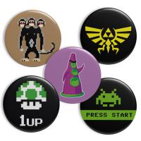 Geek Buttons Thema Gaming – Angebotsbutze.de