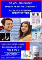 Geld verdienen mit Beauty + Wellness Produkten VEGAS Produkte Made in Germany