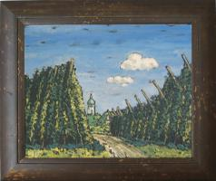 Gemälde Hopfengarten