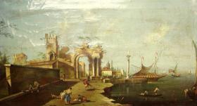 Foto 2 Gemälde, Öl auf Leinwand 130x70cm