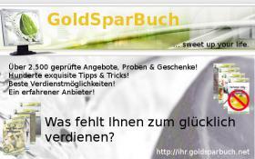 """Gesamtausgabe – """"GoldSparBuch"""" abzugeben"""