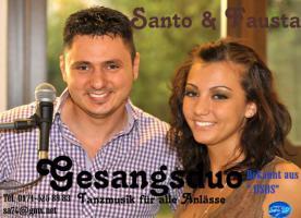 Gesangsduo ''Santo& Fausta''