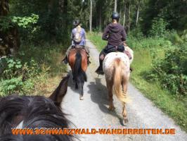 Foto 24 Geschenkidee für Reiter, Wanderreiter, Freizeitreiter - Wanderitt ab Todtmoos Au