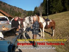 Foto 41 Geschenkidee für Reiter, Wanderreiter, Freizeitreiter - Wanderitt ab Todtmoos Au