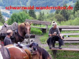 Foto 54 Geschenkidee für Reiter, Wanderreiter, Freizeitreiter - Wanderitt ab Todtmoos Au