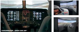 Geschenkidee Trainingsflug auf echtem Flugsimulator in Stuttgart Degerloch