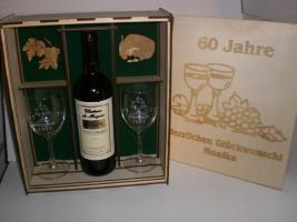 Foto 3 Geschenkspackung - Weinpräsent mit Gravur