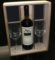 Geschenkspackung - Weinpräsent mit Gravur