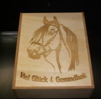 Foto 2 Geschenkspackung - Weinpräsent mit Gravur