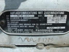 Foto 5 Geschlossener Kasten Anhänger Blomert/Wörmann Tandem