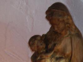 Foto 3 Geschnitzte Madonnen mit Jesuskind ca 45 cm und ca 35 cm hoch