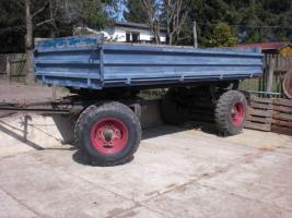 Foto 7 Gesucht: Anhänger Kipper Fortschritt HL 60/80 HW 60/80 IFA THK landwirtschaftlicher Seitenkipper Traktor Traktoranhänger Landwirtschaft Agrar