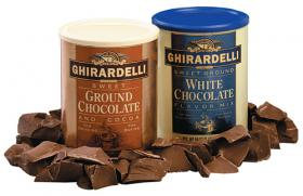 Ghirardelli Trinkschokolade Sweet Ground White Chocolate 1,36 kg
