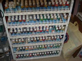Gießkeramikformen, Farben, Schrühware