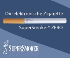 Giftstoffe in der Zigarette - oder SuperSmoker - die deutsche E-Zigarette mit echtem Filter