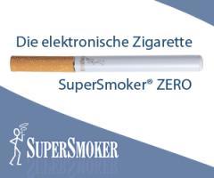 Giftstoffe in der Zigarette - oder SuperSmoker - die deutsche E-Zigarette mit echtem Papierfilter