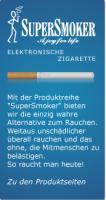 Foto 2 Giftstoffe in der Zigarette - oder SuperSmoker - die deutsche E-Zigarette mit echtem Papierfilter